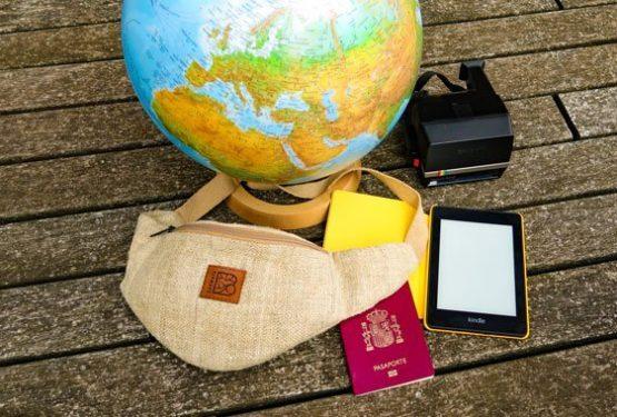 Bagmaya-sustainable-travel-pro-tips-bumbag-passport