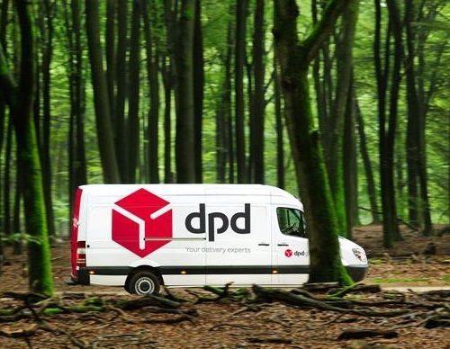 DPD carbon neutral delivery van