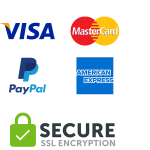 Bagmaya secure payment SSL encrypted visa paypal