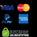Bagmaya secure payment SSL encrypted visa paypal