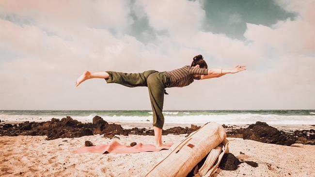 Sustainable yoga kit yoga mat bag