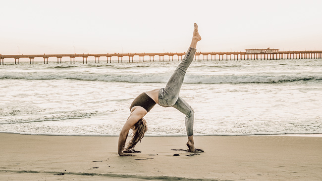 Sustainable yoga kit