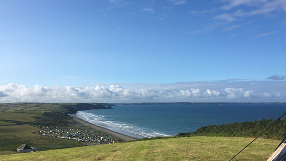 Sustainable staycation at Newgale