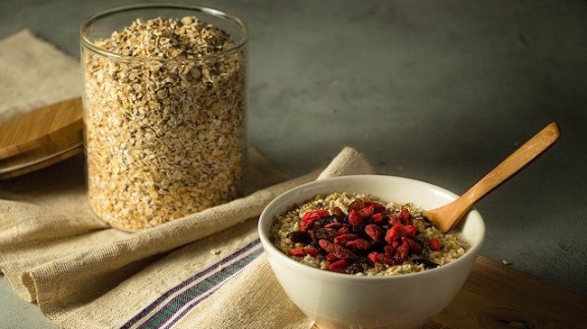 Best vegan breakfast: sustainably sourced oatmeal and granola