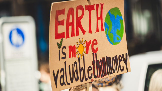 earth is more valuable than money