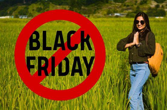Say no to black friday 2020