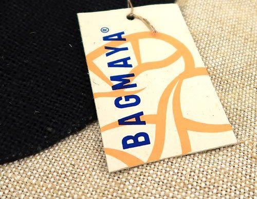 Recycled paper swing tags