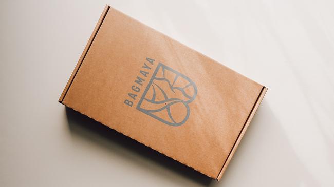 bagmaya's eco friendly mailing bag